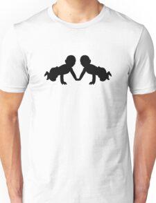 Twins babies Unisex T-Shirt