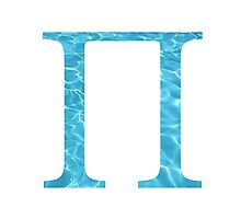 Pi-water Photographic Print