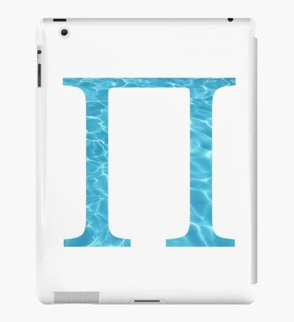 Pi-water iPad Case/Skin