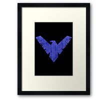 Knight Wing Framed Print