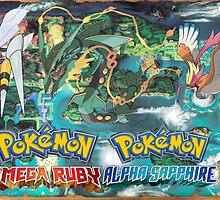 Pokemon Omega Ruby/Alpha Sapphire Mega Evolution Wallpaper by Jamyjet