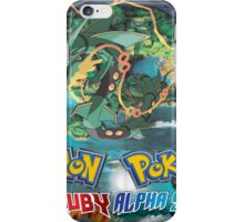 Pokemon Omega Ruby/Alpha Sapphire Mega Evolution Wallpaper iPhone Case/Skin