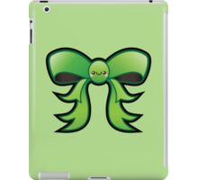 Cute Green Kawaii Bow iPad Case/Skin