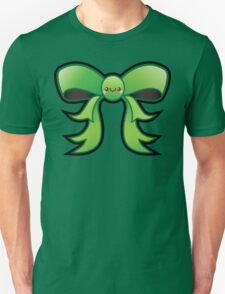 Cute Green Kawaii Bow T-Shirt