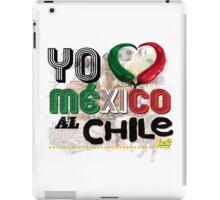 MEXICO AL CHILE 1&2 iPad Case/Skin