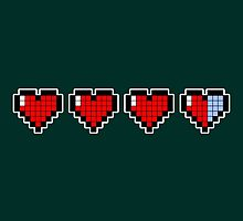 Pixel Hearts by AnishaCreations