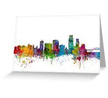 Corpus Christie Texas Skyline Greeting Card