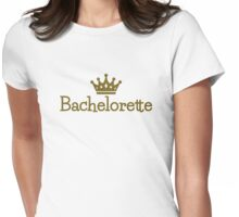 Bachelorette crown Womens Fitted T-Shirt