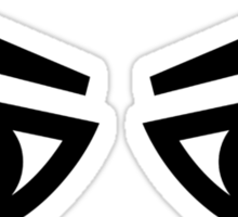 Angry eyes Sticker