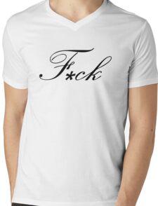 The f-word Mens V-Neck T-Shirt