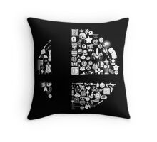 Super Smash Items Throw Pillow