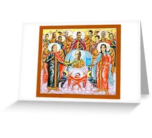 LITTLE SAINTS Greeting Card