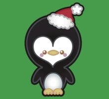 Cute Kawaii Christmas Penguin One Piece - Short Sleeve