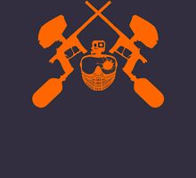 Paintball Emblem (orange) Zipped Hoodie