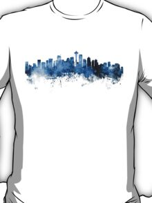 Seattle Washington Skyline T-Shirt