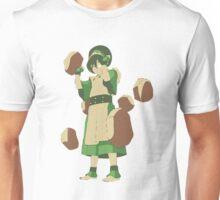 Minimalist Toph from Avatar the Last Airbender Unisex T-Shirt