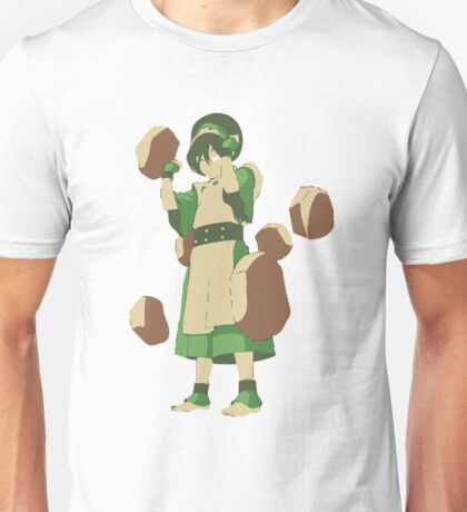 Minimalist Toph from Avatar the Last Airbender Unisex T-Shirt