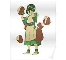 Minimalist Toph from Avatar the Last Airbender Poster