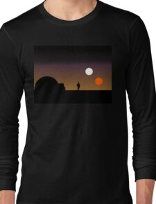 The Double Sunset... Long Sleeve T-Shirt