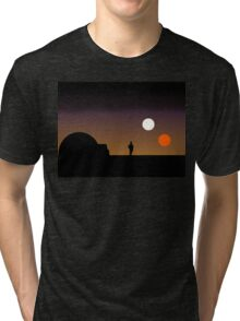 The Double Sunset... Tri-blend T-Shirt