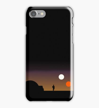 The Double Sunset... iPhone Case/Skin