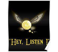 Hey Listen - Navi the Fairy Poster