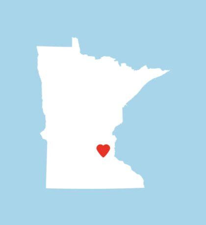 Minnesota Love Sticker