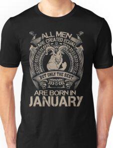 Gift for birthday in January shirt Unisex T-Shirt
