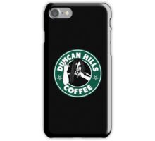 Duncan Hills Coffee iPhone Case/Skin