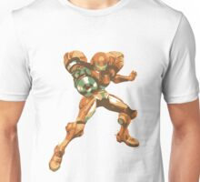 Minimalist Samus from Super Smash Bros. Brawl Unisex T-Shirt
