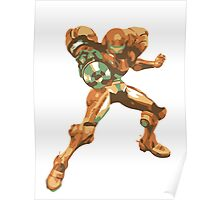 Minimalist Samus from Super Smash Bros. Brawl Poster
