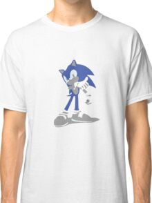 Minimalist Sonic from Super Smash Bros. Brawl Classic T-Shirt
