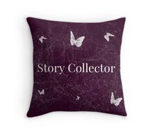 Collector of Stories Throw Pillow