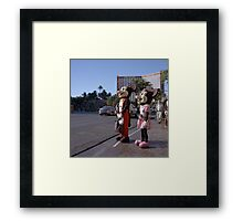 Out of Work Framed Print