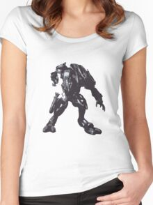 Minimalist Elite from Halo Women's Fitted Scoop T-Shirt