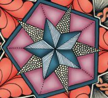Pentacle Mandala Sticker