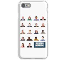 Dunder Mifflin Employee Headshots iPhone Case/Skin