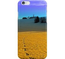 Colorful winter wonderland scenery | landscape photography iPhone Case/Skin