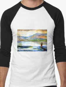 Fjords of Norway Men's Baseball ¾ T-Shirt