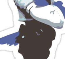 Minimalist Falco from Super Smash Bros. Brawl Sticker
