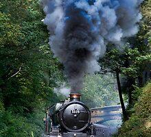 5029 Nunney Castle by Dave Hudspeth