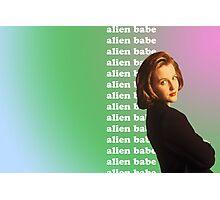 alien babe Photographic Print