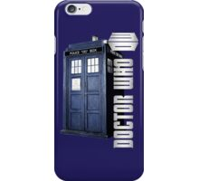 DW. DOCTOR WHO TARDIS iPhone Case/Skin
