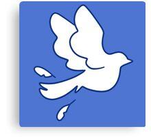 Dove Peace Symbol Canvas Print