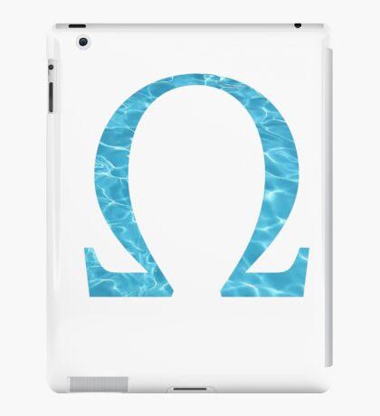 Omega-water iPad Case/Skin
