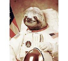 Space Sloth Photographic Print