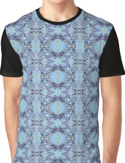 Blue Blossom Patterns Graphic T-Shirt