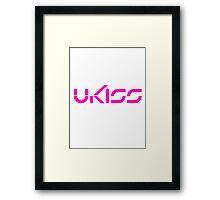 U-KISS 2 Framed Print