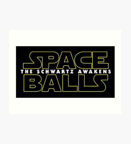 spaceballs  Art Print