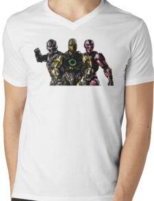 Triborg Mens V-Neck T-Shirt